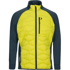 Peak Performance Helium Hybrid Jacket Herr blaze lime